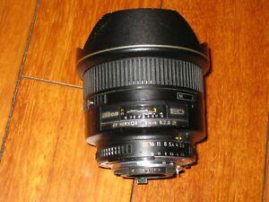 Nikon Nikkor AF 14mm F/2.8D ED RF Aspherical Ultra Wide Angle Lens FX/DX