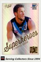 2015 AFL Champions Superheroes Refractor Card AS22 Travis Boak (Port Adel)