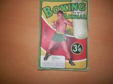 Boxing  News Annual 1953 Gilbert Odd Rocky Marciano Johnny Sullivan