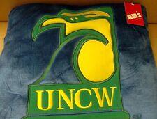 UNC Wilmington Seahawks NCAA Plush Pillow 18 inch Free Ship