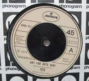 "10cc ~ Art For Arts Sake ~ 7"" Single"