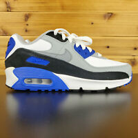 Nike Air Max 90 LTR Big Kids' Shoes White-Particle Grey-Navy CD6864-103