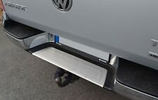 2010Up VW Amarok Chrome Rear Bumper Protector Scratch Guard S.Steel