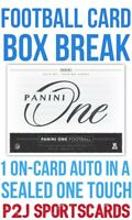 2018 PANINI ONE FOOTBALL CARD HOBBY Box BREAK 1 RANDOM NFL TEAM Break 4216