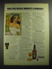 1972 Heublein Cocktails Ad - Was the Brass Monkey a Woman?