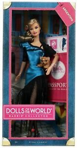 Argentina Barbie Doll from Dolls of The World #W3375 New NRFB 2011 Mattel, Inc.