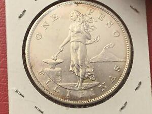 Philippines USA COIN - 1903-P Silver One Peso