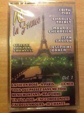 VIVA LA FRANCE  EDITH PIAF TRENET CHEVALIER  BAKER MUSICASSETTA NUOVA COLLEZIONE