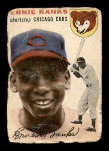 1954 Topps Set Break # 94 Ernie Banks LOW GRADE *OBGcards*