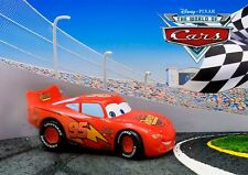 Disney Pixar Cars 3D Lenticular Greeting Card Postcard
