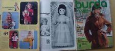 Burda Moden 10/74 PUPPE 1974 Abendmode WÄSCHE KAUFEN CAPE Teenager 70er vintage