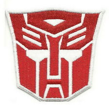 Transformers Autobot Logo Red Cartoon Iron on Patches