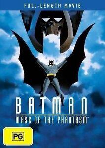 Batman Animated MASK OF THE PHANTASM DVD Feature Length Full Movie Rare
