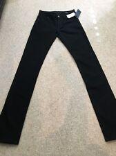 DL 1961 Black Xoxo Curvy Straight Jeans Size 24 NWT Retail $178!!