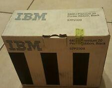 GENUINE NEW SEAL IBM 6400-i Premium 20 Printer Ribbon, Black 57P2309