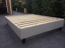 Upholstered Bedbase / Double Size Bed Base / Australian Made Slatted Bedbase