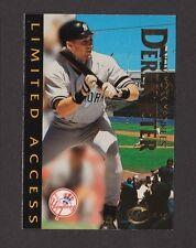 1997 Fleer Circa Skybox Limited Access Booklet #7 of 15 DEREK JETER Yankees NRMT