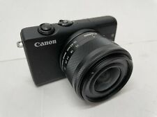 Canon EOS M200 with EF-M 15-45mm Lens - Great Vlog Camera! - (Black)