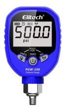 Elitech PGW-500 Wireless Digital Pressure Gauge 500psi Refrigeration HVAC Record