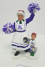 Kansas State Wildcats Danbury Mint Ms Santa Rare