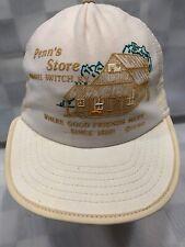 PENN'S STORE Gravel Switch K.Y. 3 Stripe Snapback Adult Trucker Cap Hat