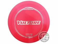 New Discraft Elite Z Vulture 164-166g Pink Silver Foil Distance Driver Golf Disc