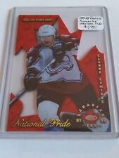 1997-98 Donruss Canadian Ice National Pride #25 Claude Lemieux : Colorado