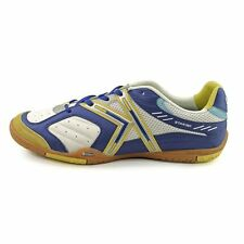 ce03cde944c Kelme Star 360 Michelin Mens Leather Indoor Soccer Shoes White   Royal