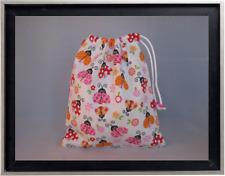 Gymnastics Leotard Grip Bags / Lovely Ladybugs Gymnast Birthday Goody Bag