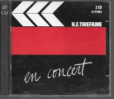 2 CD ALBUM 19 TITRES--H.F. THIEFAINE--EN CONCERT...