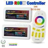 2.4G DC12V-24V Wireless MiLight LED RGBW Strip Light Controller+WiFi/RF Remote