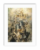 BRAQUE MAN WITH A GUITAR Painting Canvas art Prints