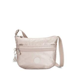 Kipling Small Shoulder Bag ARTO S Crossbody METALLIC GLOW SS2020 RRP £63