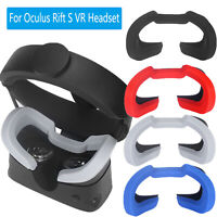 Silicone VR Eye Mask Cover Breathable Blocking Pad for Oculus Rift S VR Headset