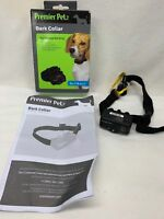 Premier Pet Bark Collar GBC00-16295 For Dogs 8lbs and Up In Box with Manual