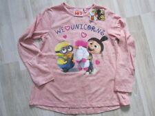 Minions ME3 – Sweatshirt Agnes  - Einhorn Fluffy  Gr.110