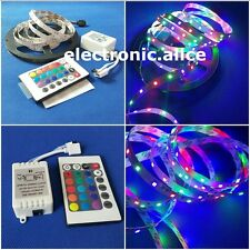 3528 RGB led strip light 5M 300SMD led stripe + 24keys SMD IR Remote Controller