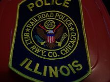 Chicago Area Railroad Police patch