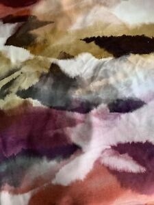 Harlequin Minako Velvet Indigo/Fuchsia/Mandarin 3m Piece