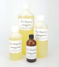 Shampoo Base Organic 100ml - 1 litre Pure SLS SLES Paraben Free with Aloe Vera