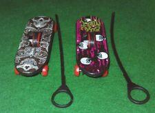 Lot of 2 Genuine Greenbrier International Ripcord Finger Skateboards