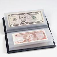 Album de Poche Rangement et Protection pour Billets de Banque de Collection