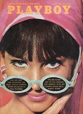 PLAYBOY JUNE 1965 Hedy Scott Turid Lundberg Ursula Andress Melvin Belli