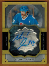 2013-14 , UPPER DECK , THE CUP , MICHEL GOULET , BRILLIANCE , AUTO