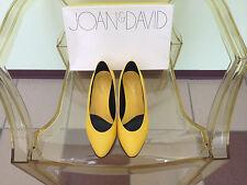 Women's Joan & David Yellow Leather Pumps