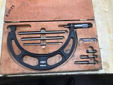 Starrett Micrometer Caliper NO. 224 in Case