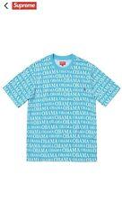 f02f7284 (NEW SEALED) Supreme Obama Jacquard T-Shirt
