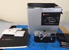Leica M10 24 MP Digital Camera - Silver