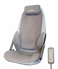 HoMedics Shiatsu MAX Massage Chair for Back & Shoulders Cushion + Heat CBS-1000
