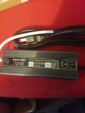 Aspentek LED Power Supply AC 110V to DC 12V LED Transformer Adapter Waterproof